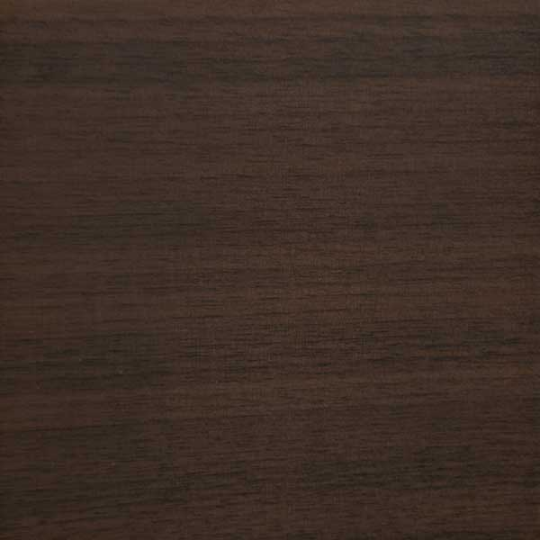 Quarter cut walnut in dark walnut