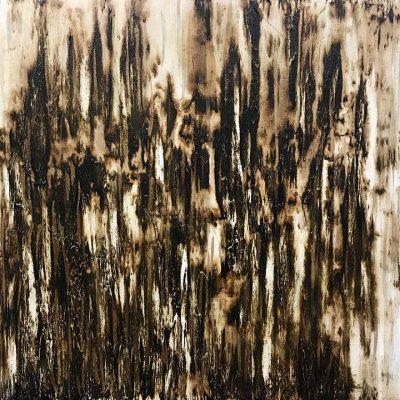 Factum - Mixed Media on Canvas, 48x48